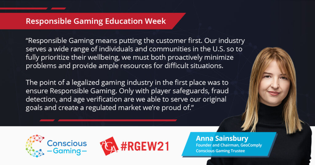 Responsible Gaming Education Week 2021: The Time is Now and It Starts with Each of Us